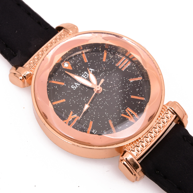 High-end brand, fashion simple women watch, leather, women's watches watch women's wrist dled sintia-2389