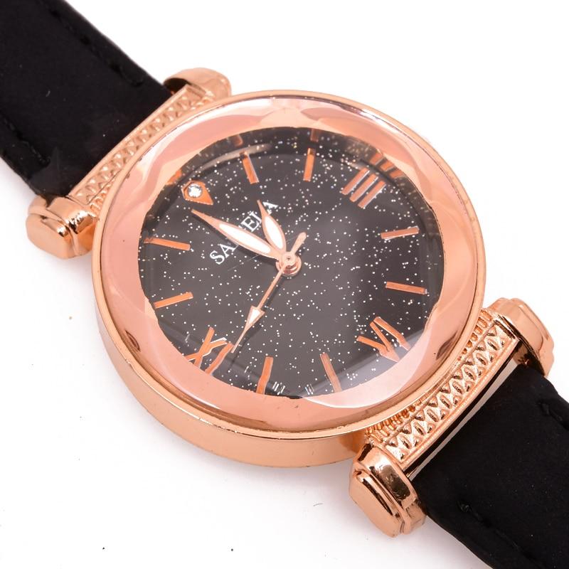 High-end Brand, Fashion Simple Women Watch, Leather, Women's Watches Watch Women's Wrist Dled Sintia-2389