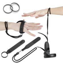 Kiwi Ontwerp 1kit Pu Knuckle Band Met Polsband Voor Oculus Quest/Oculus Rift S Touch Controller Grip Accessoires