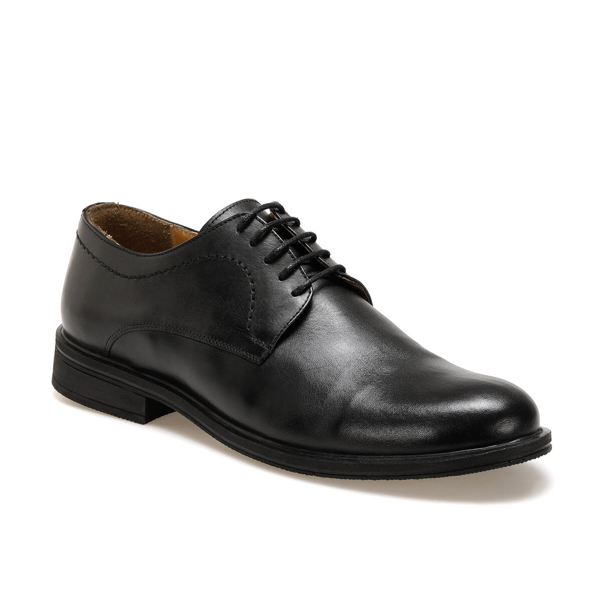 FLO 468 Black Men Dress Shoes Garamond