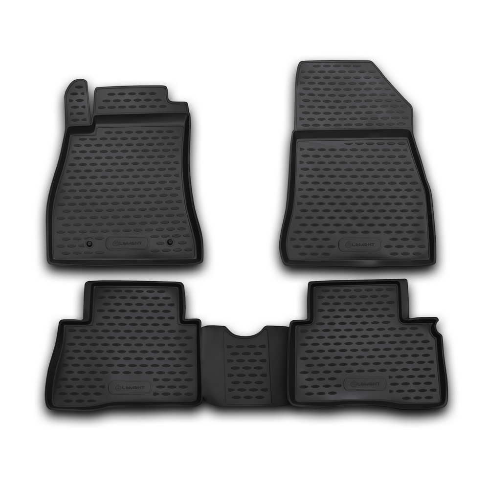 Floor Mats For NISSAN Juke 2010-2014, 2014-> Hook T/L. CARNIS10045