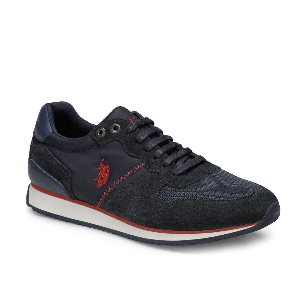 FLO MAC Navy Blue Men 'S Sports Shoes U.S. POLO ASSN.