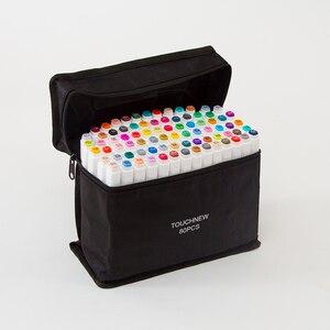 Image 2 - Touchfive маркеры для рисования эскизы спиртовые маркеры 30 40 60 80 168 цветов профессиональные художественные маркеры для анимации ручка для рисования манги