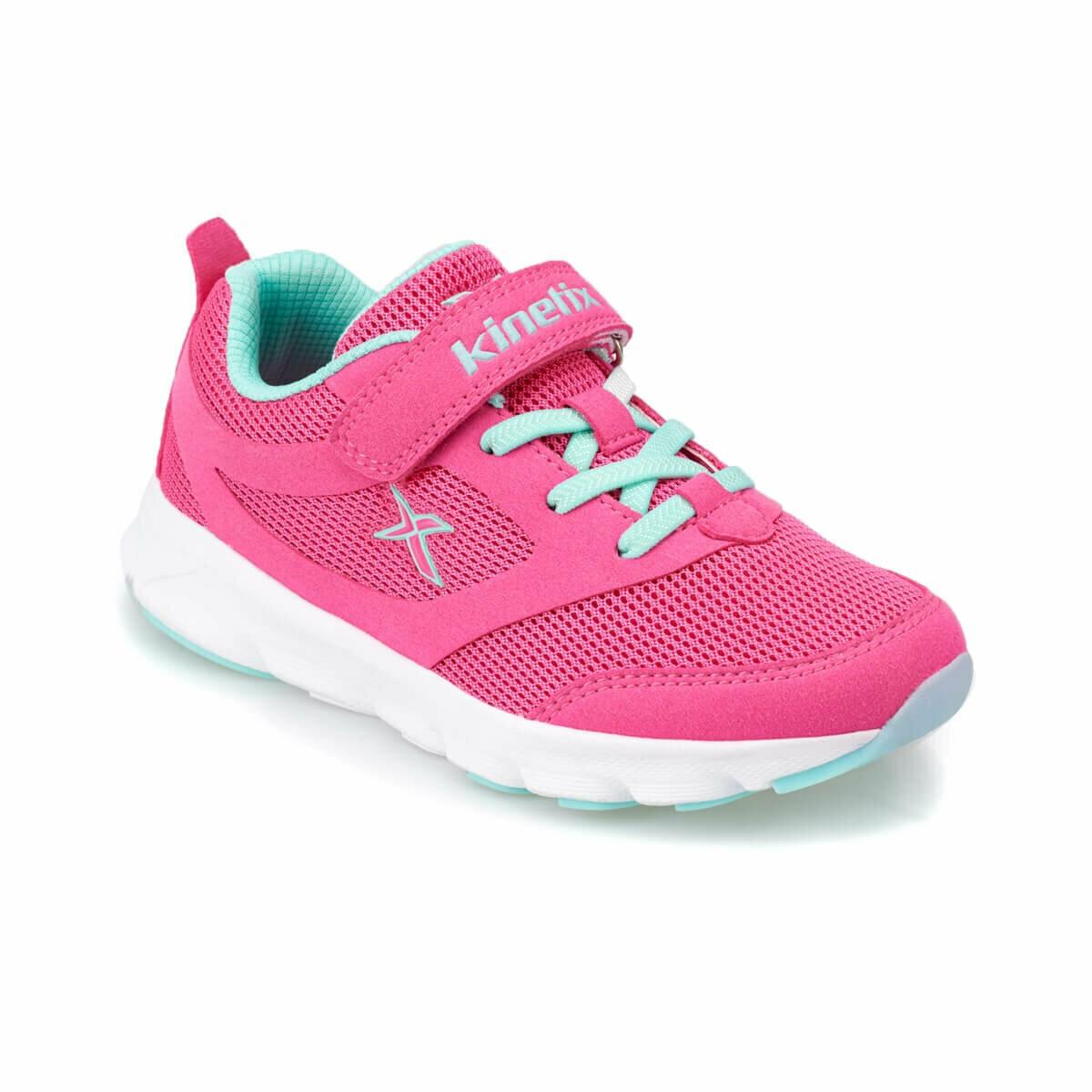 FLO ALMERA J Fuchsia Female Child Running Shoes KINETIX
