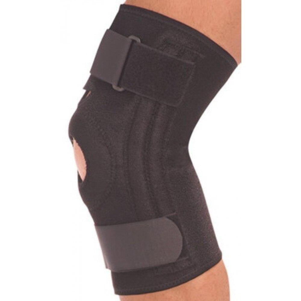 Бандаж на коленный сустав со спиральными ребрами Тривес Т 8512 Налокотники и наколенники    АлиЭкспресс