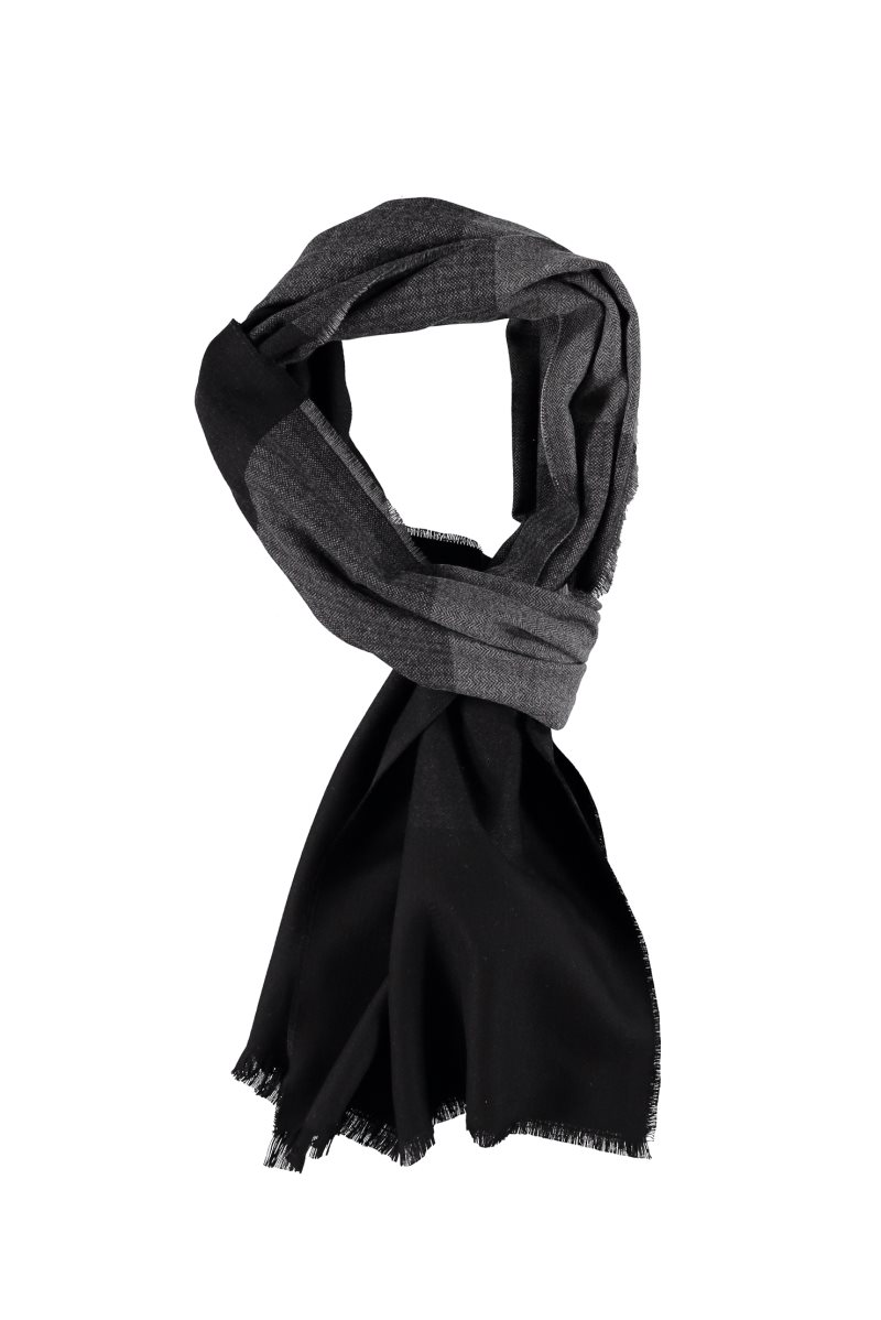 Kigili Scarf 100% Brand New High Quality Reversible Weave Frayed Thick Warm Comfortable Stylish Winter Scarf For Men Made In Turkey