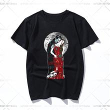 Вампиры поцелуй» футболки для женщин мужчин и kawaii Футболка