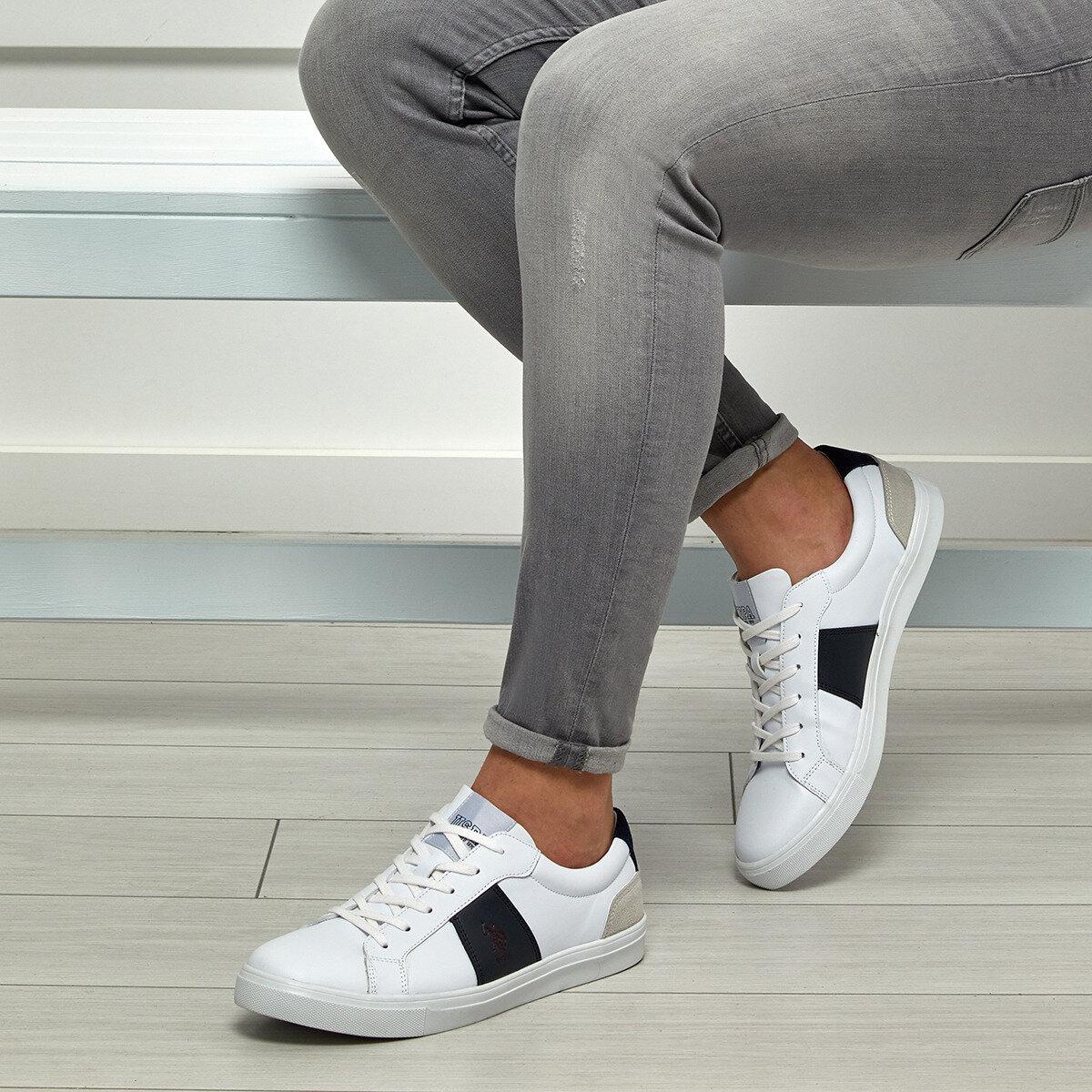FLO ALEN White Men 'S Sneaker Shoes U.S. POLO ASSN.