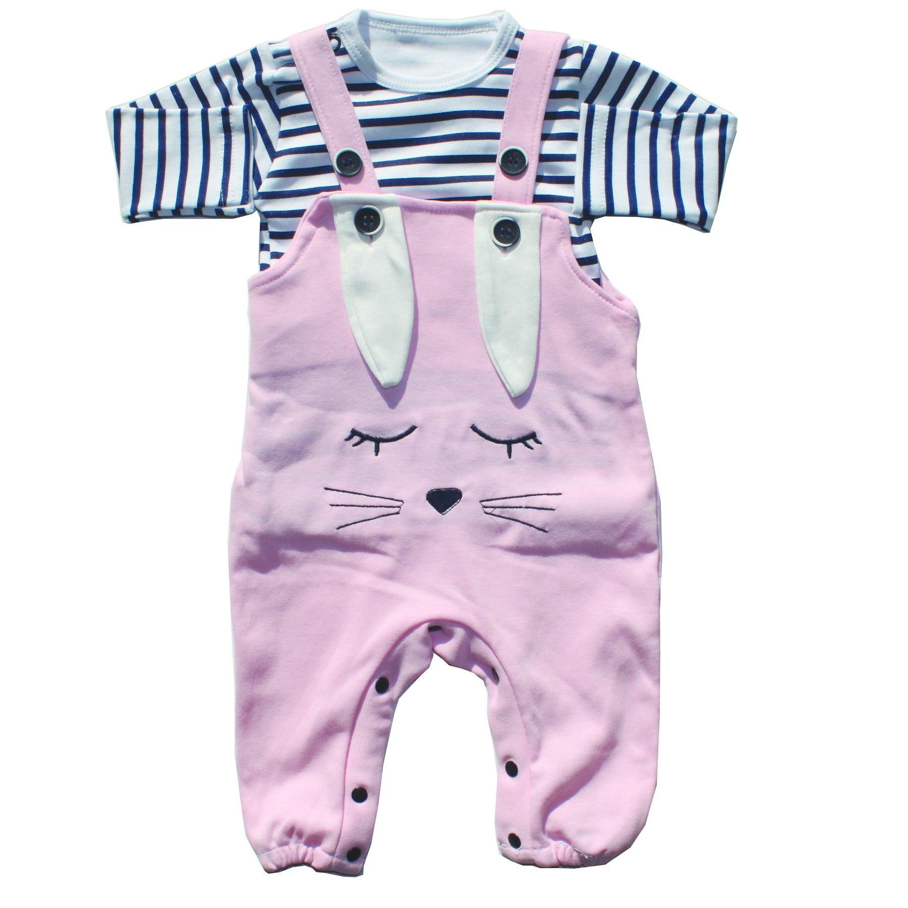 Badili Eared Rabbit Pink Slopet Jumpsuit