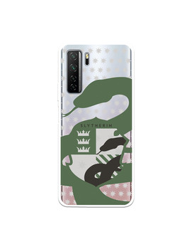 Official Harry Potter Slytherin silhouette shield Huawei P40 Lite 5G case-Harry - sale item Mobile Phone Accessories