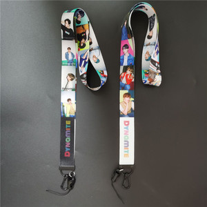 KPOP Bangtan Boys Dynamite Photo Printing Phone Neck Lanyard JIMIN SUGA J-HOPE C182