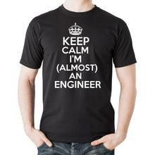 Лидер продаж футболка для студентов с надписью keep calm я почти