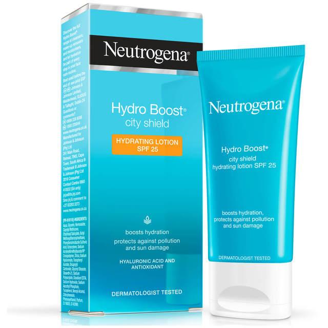 Neutrogena Hydro Boost City Shield Hydrating Lotion Spf25 1