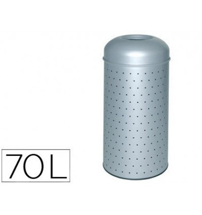 TRASH METAL PERFORATED WITH BUCKET 390X850 MM INNER