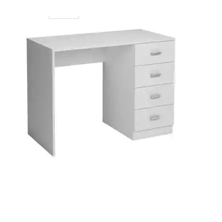 Study Table 4 Drawers Oak Or White.