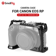 SmallRig DSLR Camera Cage for Canon EOS RP Feature with 1/4 3/8 Thread Holes For Magic Arm Microphone Attachment CCC2332