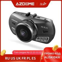 Original AZDOME M11 Dash Cam 1080P DVR Car Camera Mini Dashcam Dual Lens Night Vision Support GPS 24H Parking Monitor
