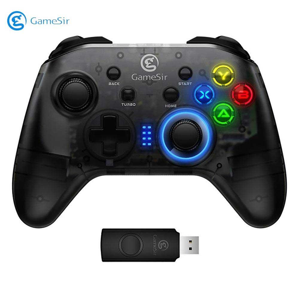 GameSir T4, controlador de juego inalámbrico, mando con cable USB para Windows (7/8/9/10) PC