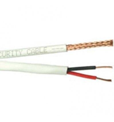 Coaxial Cord Combi RG-59 + 2X0,81 Roll 100 Mts