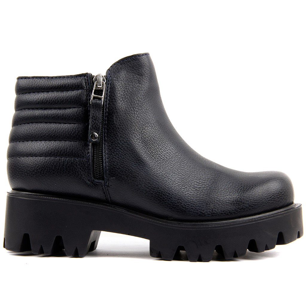 Moxee-Navy Blue Women 'S Boots