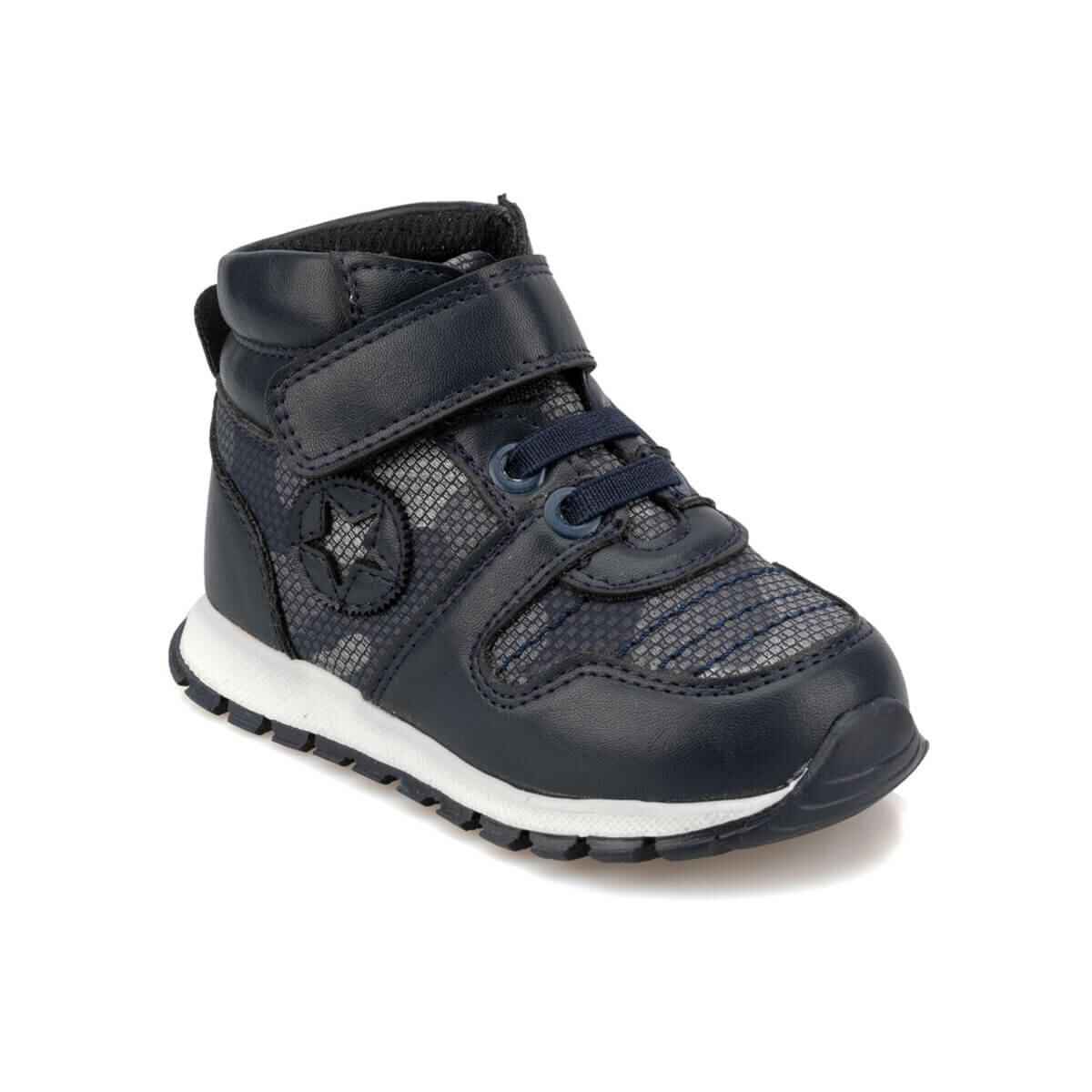 FLO 92.511721.B Navy Blue Male Child Sports Shoes Polaris