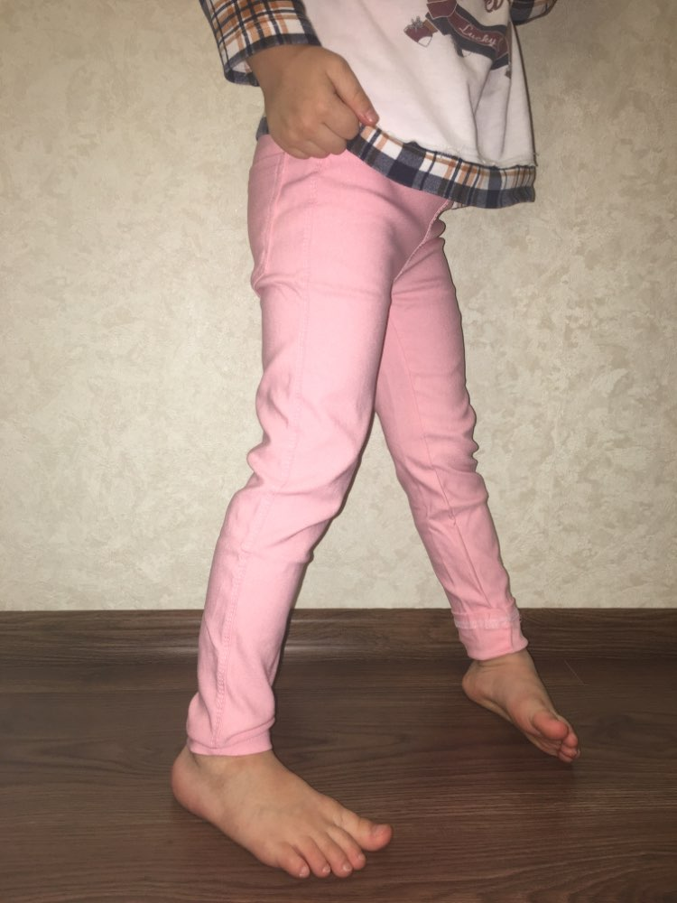2019 Kids Girl Pants Spring Autumn Candy Color Elastic Pencil Trousers Child Solid Leggings For 2 11Y Children Clothing|Pants| |  - AliExpress