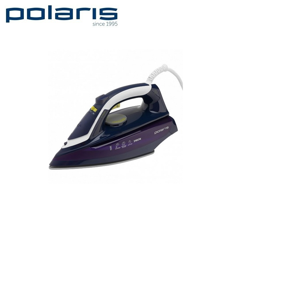 Iron Polaris PIR 2480AK ink  Iron for ironing Mini iron steam iron Steam generator for clothing Irons Electric steamgenerator Small iron electric iron polaris pir 2490ak