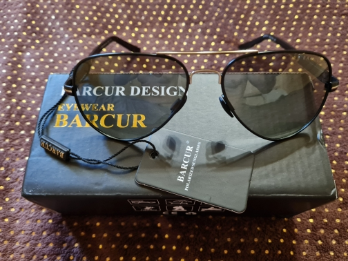 <strong>BARCUR Remington</strong> - Polarized Men Sunglasses For Driving, Fishing And Hiking photo review