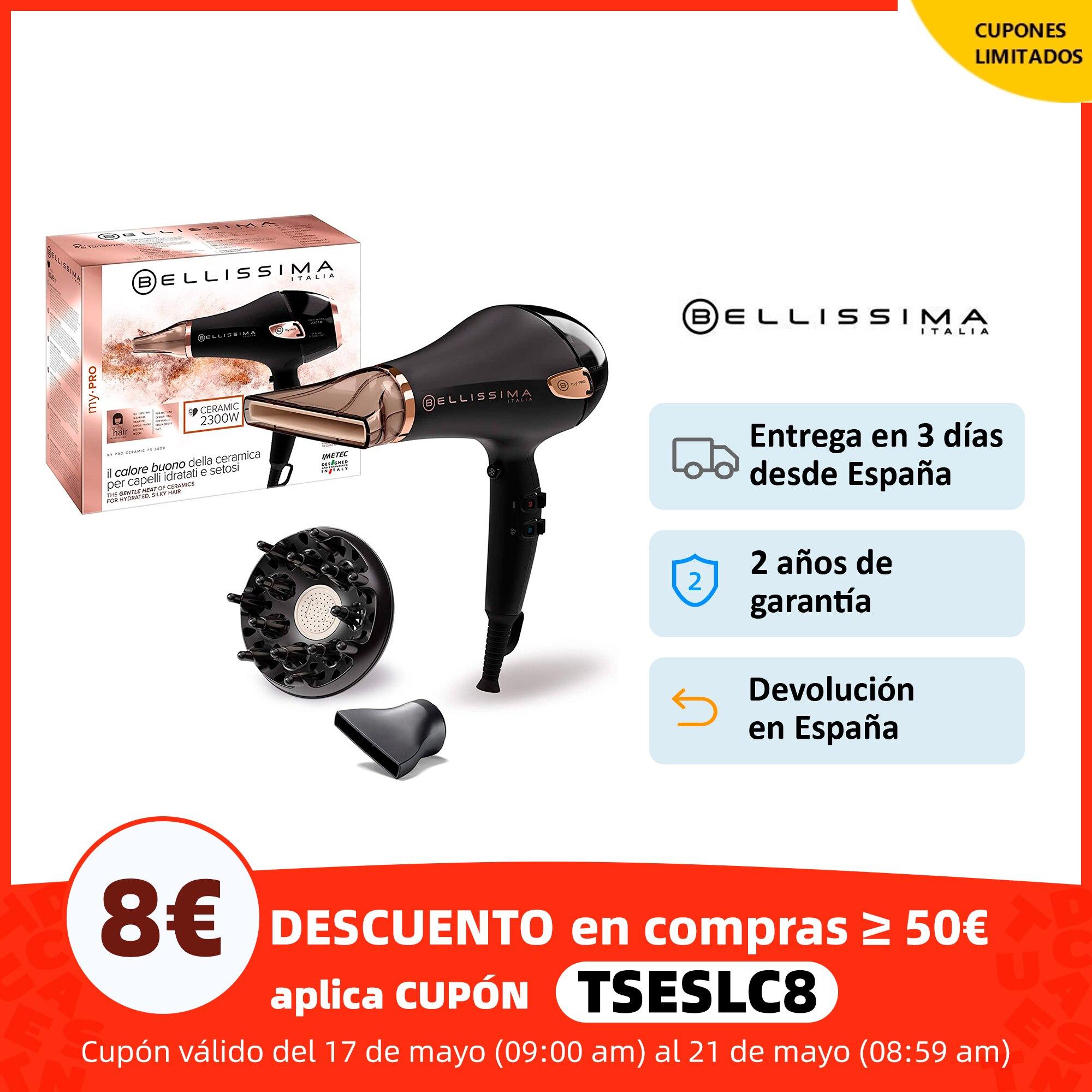 Bellissima Secador de Pelo My Pro Ceramic P5 3800 para unos Rizos Naturales | Secador de Cabello | Secadores profesionales| | - AliExpress