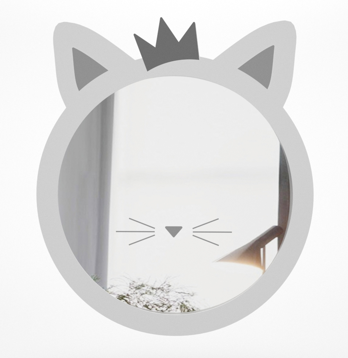 Cat Kids Mirror