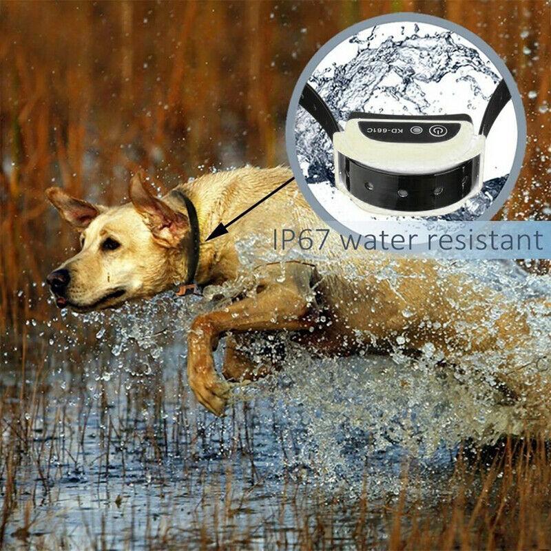 Электронный ошейник для собак для ограждения, система удержания, водостойкий забор с 1 ошейником 100g2280 - 6