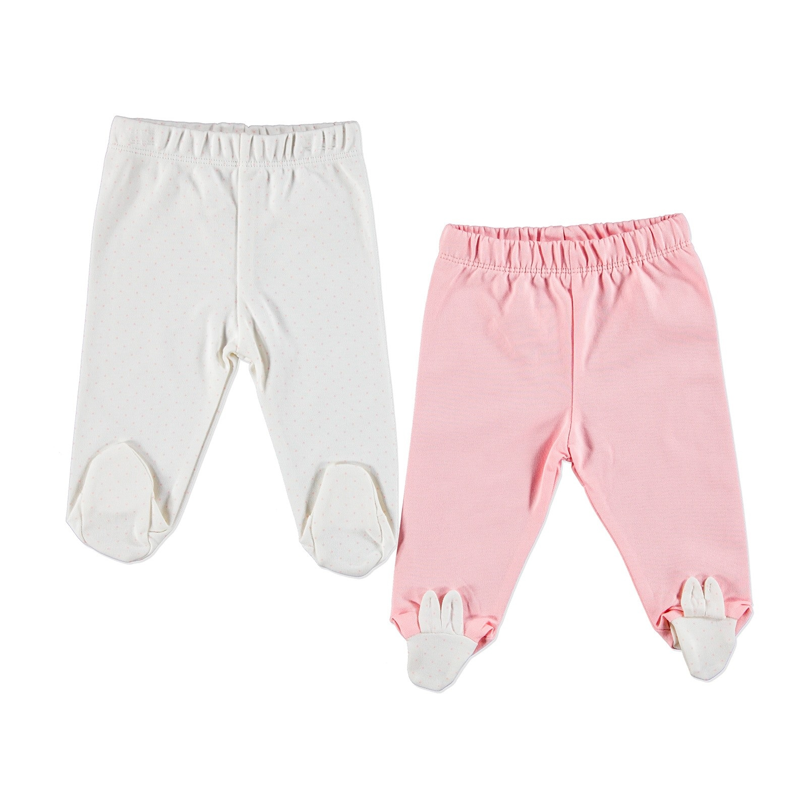 Ebebek For My Baby Bunny Footed Pants 2 Pcs