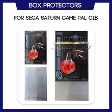 صندوق حامي ل Sega زحل لعبة PAL CIB مخصص قطع الغيار من البلاستيك الشفاف