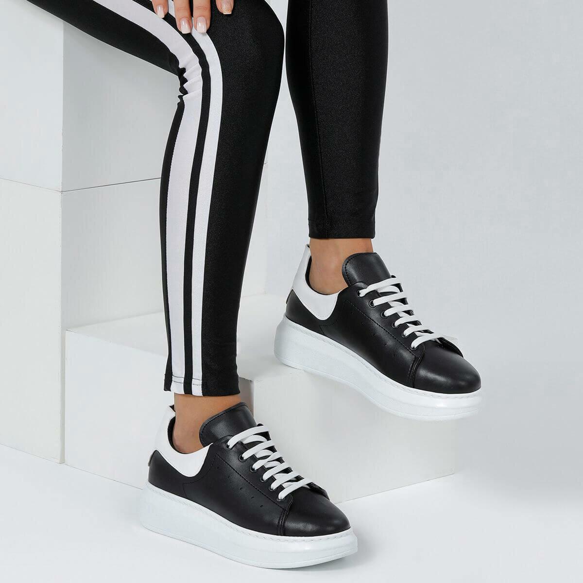 FLO DONALD85Z Black Women 'S Sneaker Shoes BUTIGO