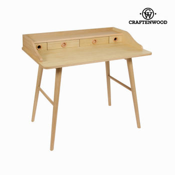 Hout Bureau 4 Lades-Moderne Collectie Door Craftenwood