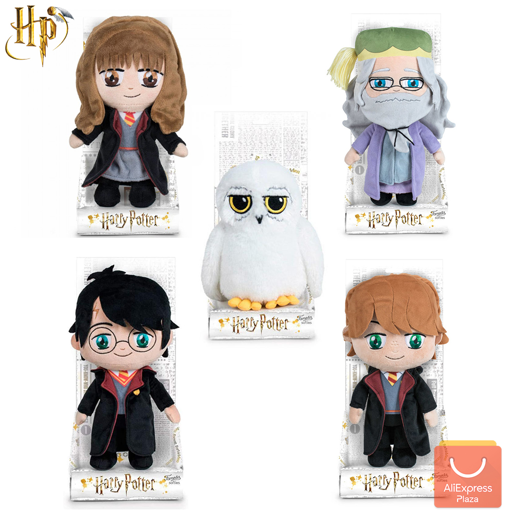 Harry Potter plush toys, for real fan of the saga, get everyone! Ron Weasley, Hermione, Albus Dumbledore, Hedwig 20 CM Movies & TV  - AliExpress