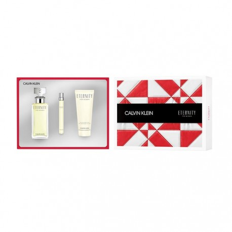 ETERNITY EDP 100ML SPRAY 100ML + BODY LOTION + MINI EDP 10ML