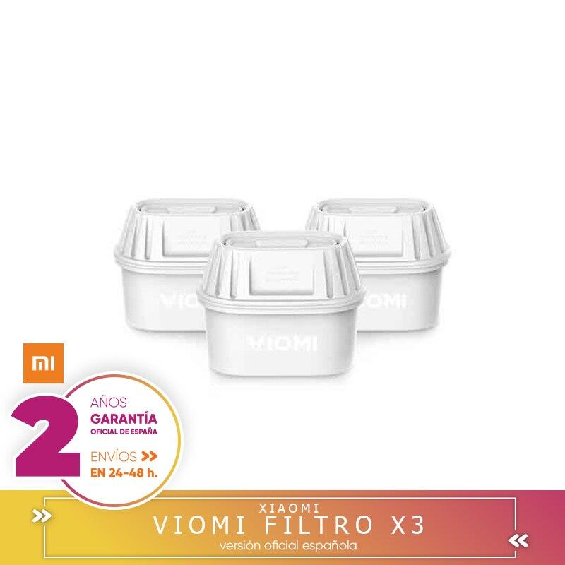 Filtros Recambio De Xiaomi Viomi Pitcher Filter Jarra De 3 Unidades