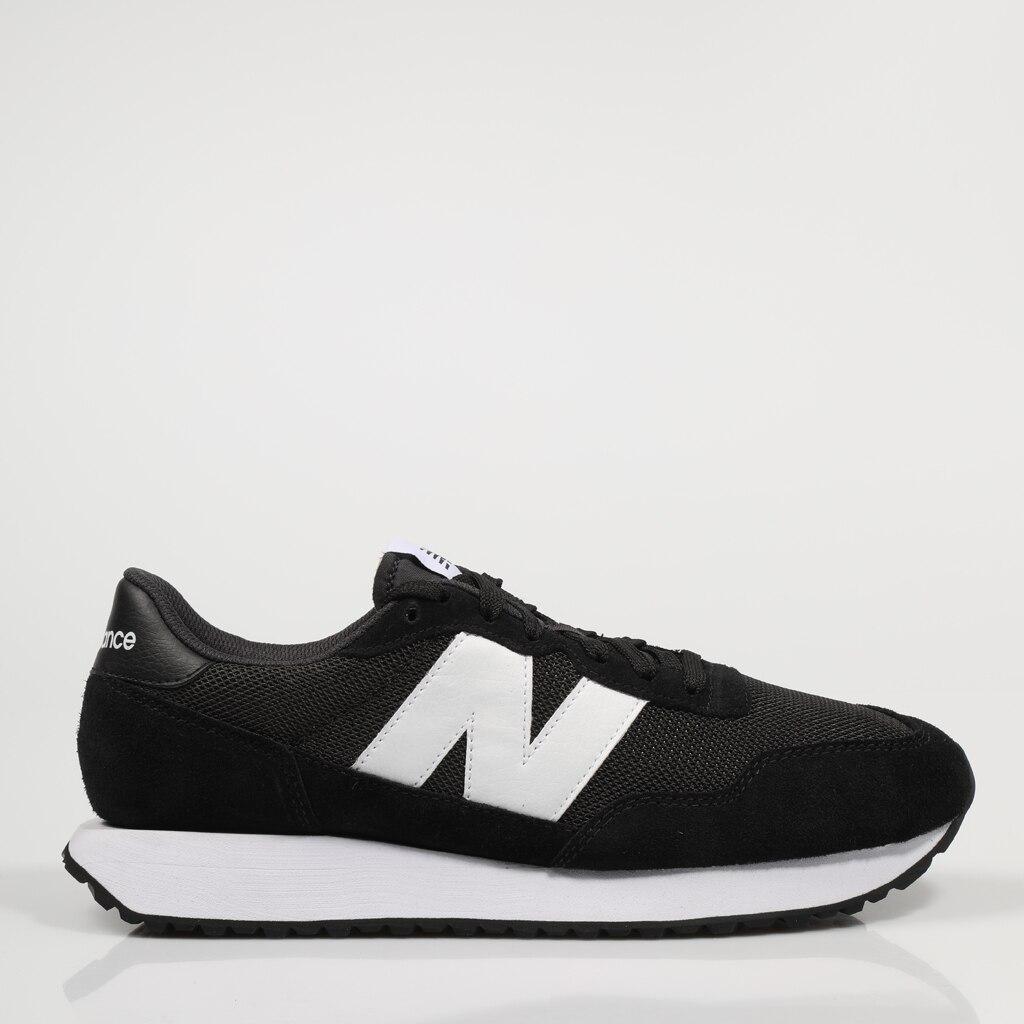 Zapatillas New Balance MS 237 75495 421060175495 En Negro Black Canvas 2021