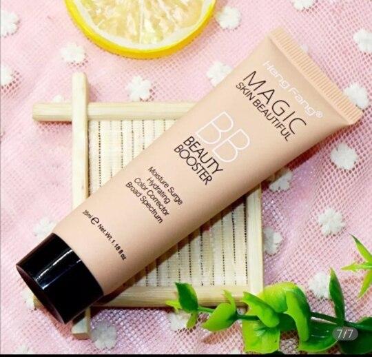 1Pc HengFang Natural Brighten Liquid Foundation BB Cream Base Makeup Concealer Long Lasting Face Whitening 3 Skin Color TSLM1