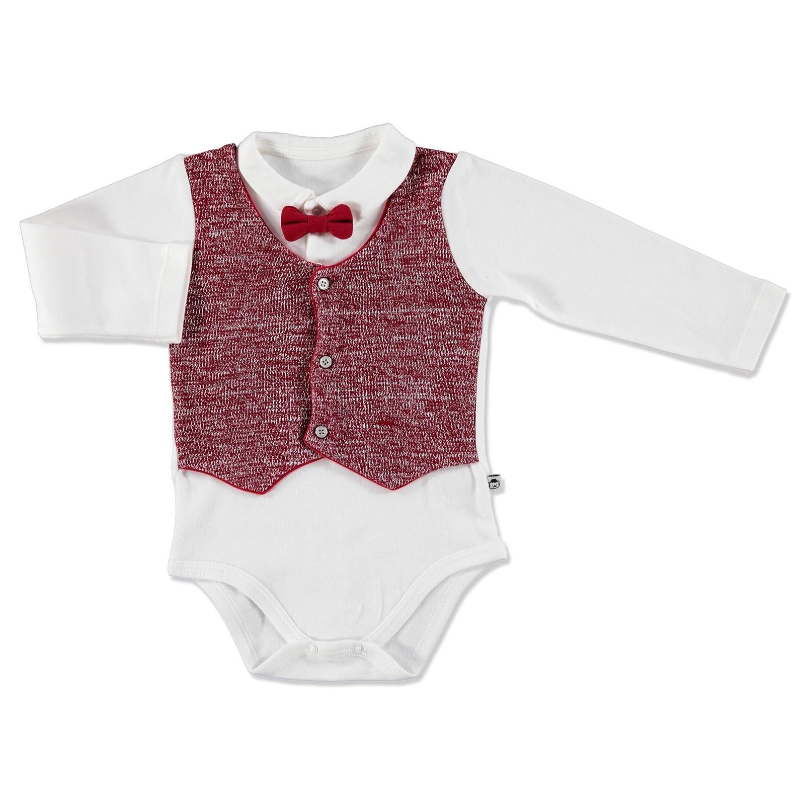 Ebebek Mymio Monsieur Vest Baby Boy Bodysuit