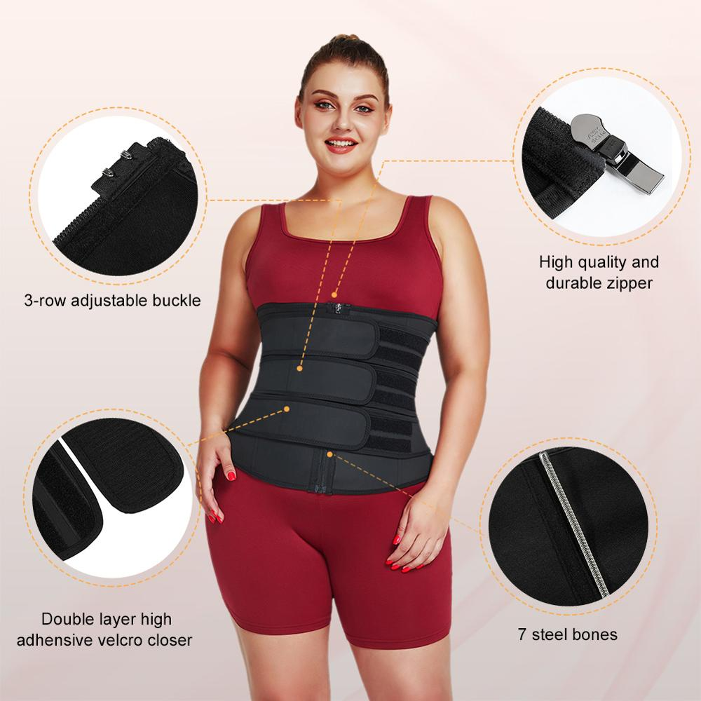 S-6XL Plus Size Women Latex Waist Trainer in Achimota Ghana 3