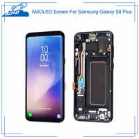 OEM LCD For Samsung Galaxy S8 plus G9550/F/FD/U/A/P/T/V/R4/W AMOLED Display With Touch Screen Digitizer Assembly No Burn-Shadow
