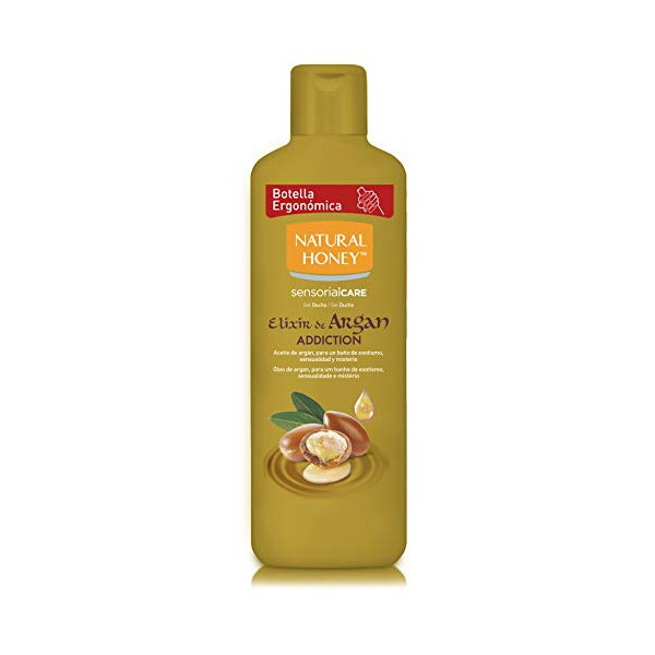 Shower Gel Elixir De Argan Natural Honey (650 Ml)