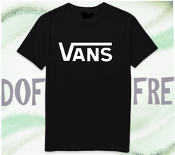 VANS T-shirt men women short sleeve