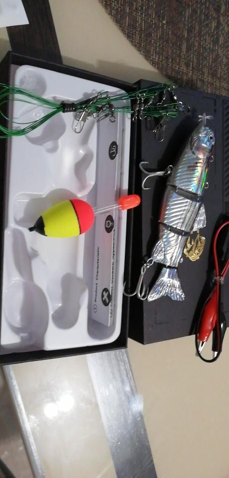 Isca Artificial Elétrica Profissional 100% Original photo review