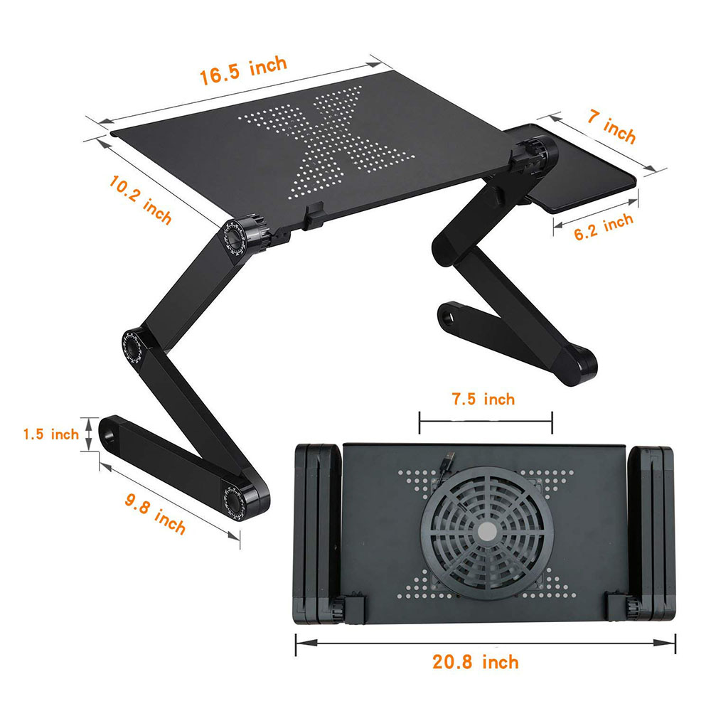 Adjustable Laptop Laptop Table Stand With Adjustable Folding Ergonomic Design Stand Notebook Desk Dresser