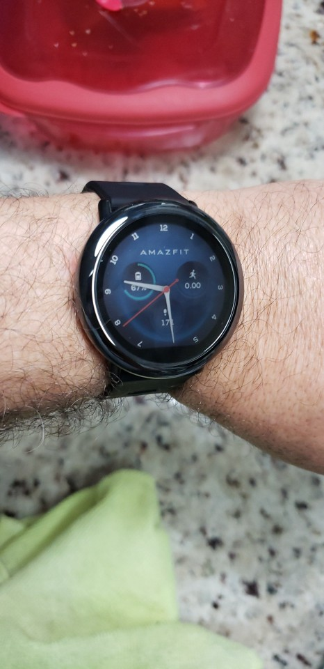 New Amazfit Pace Smartwatch Amazfit Smart Watch Bluetooth Notification GPS Information Push Heart Rate Monitor for Android Phone|Smart Watches|   - AliExpress