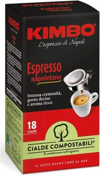 Kimbo waffle maker compostable ESE-express Napoletano (8x18 pods)