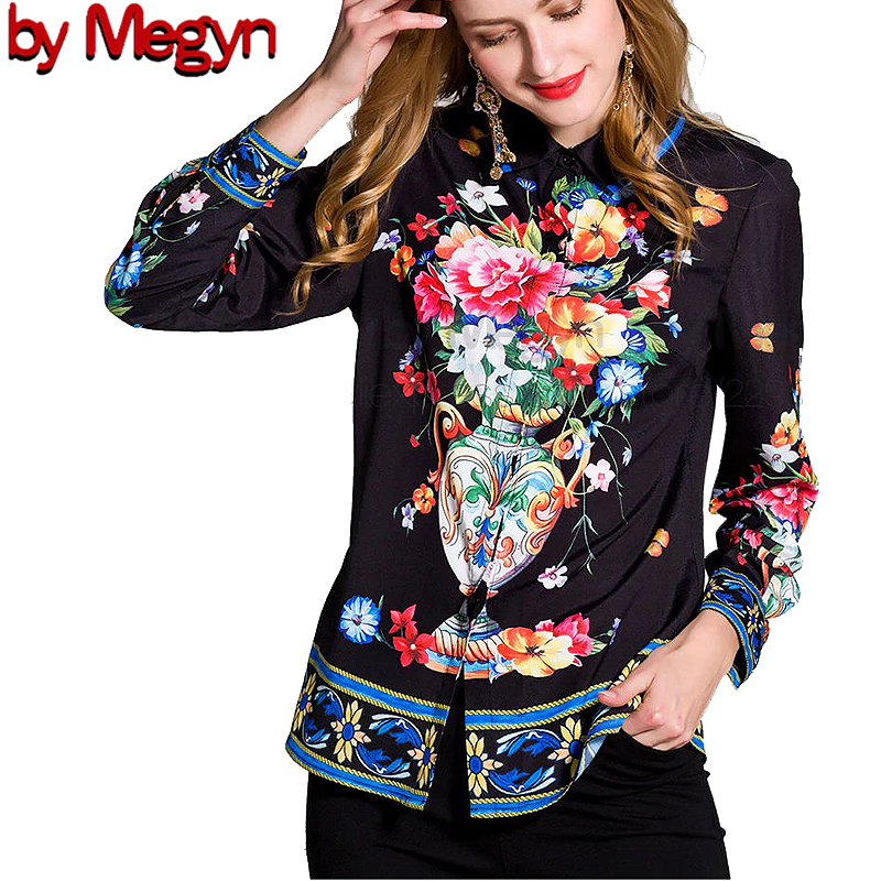 2020 Spring Summer Women Blouses Long Sleeve Floral Print блузка женская Blouses Women Plus Size 3XL Female  Top And Shirt